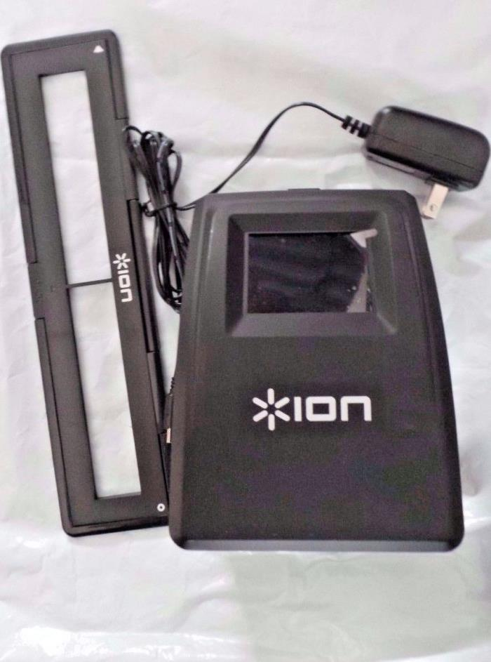 ION  FILM 2 SD PLUS HI-RES 35MM SLIDE AND NEGATIVE SCANNER, PLEASE READ