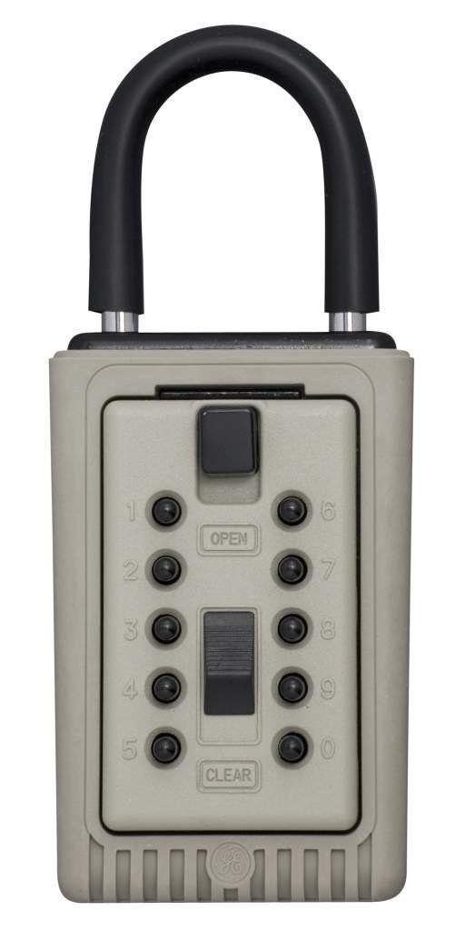 GE INTERLOGIX SUPRA 3-KEY TEMPORARY PUSH BUTTON LOCK BOX