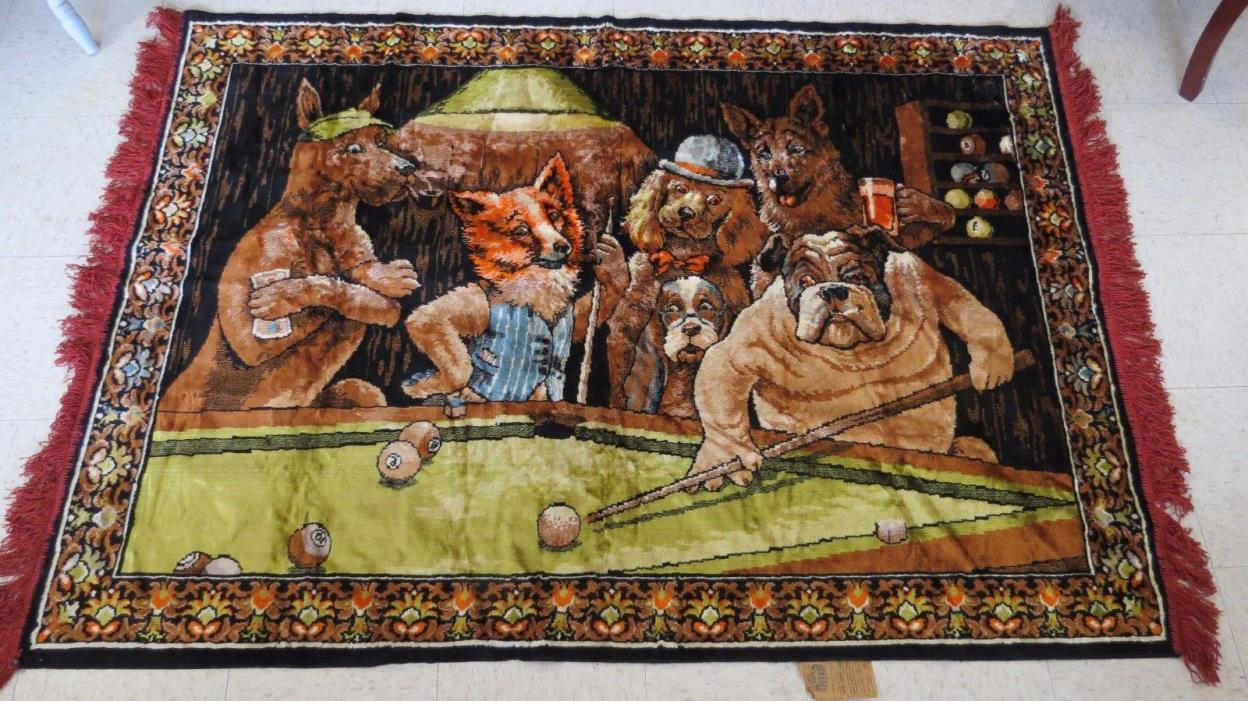 Dogs Playing Pool For Sale Classifieds