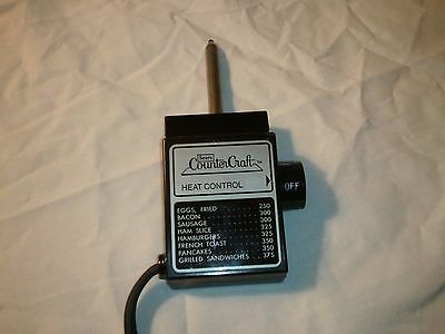 Sears Counter Craft Heat Control Temperature Probe Cord WB# 1  1500W
