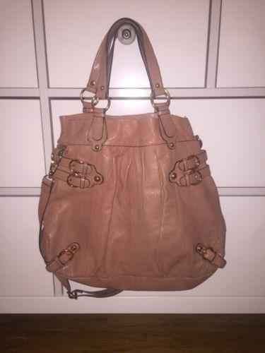 Hype Tan Leather Handbag!