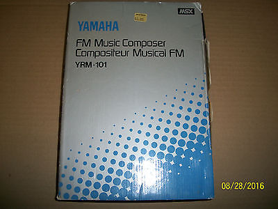 YAMAHA MUSIC COMPOSER YRM 101 CX5M COMPUTER DX7 SYNTHESIZER