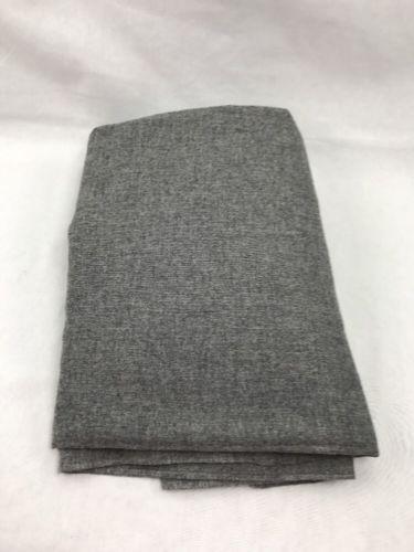 Gray Wool Fabric Material 3.5 Yards