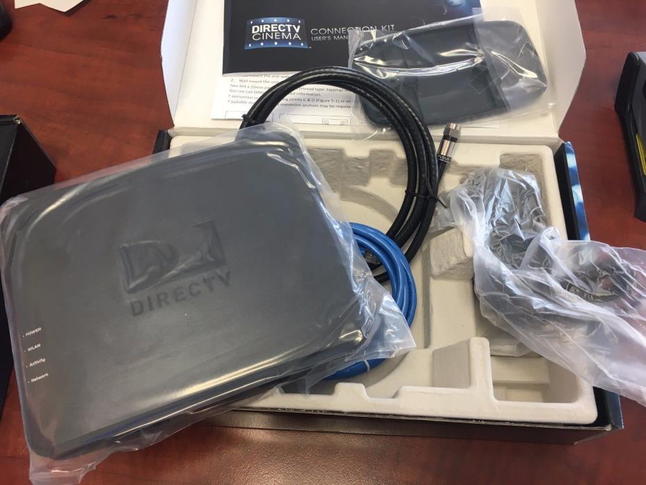 BRAND NEW DirecTV DECA Wireless Wi-Fi Cinema Connection Kit  DCAW1R0-01