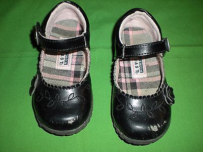 FRENCH TOAST TODDLER GIRLS BLACK PATTEN EVERYDAY SHOES