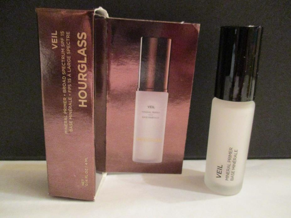 HOURGLASS VEIL MINERAL PRIMER TRAVEL SIZE .14 OZ **NEW IN BOX**