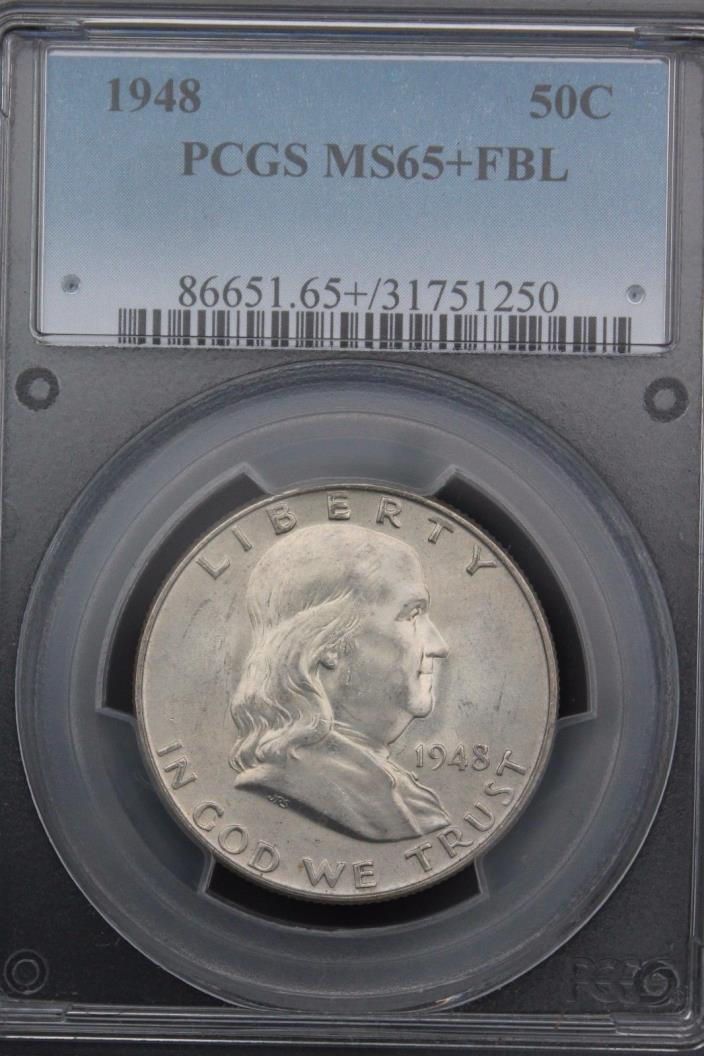 1948-P FRANKLIN PCGS MS 65 +PLUS+ FBL