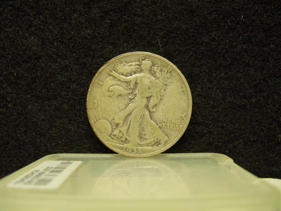 * 1935-S WALKING LIBERTY SILVER HALF DOLLAR