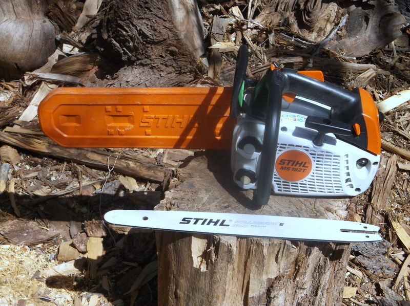 Stihl MS 192 T Chainsaw with xtra 16