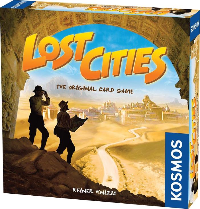 Lost Cities - The Card Game Brand New Sealed Free Shipping