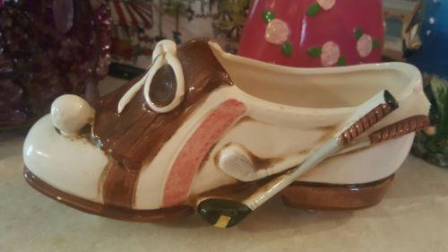 Decorative Golf Shoe Vase