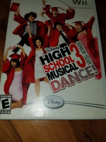Disney High School Musical 3: Senior Year Dance! Nintendo Wii