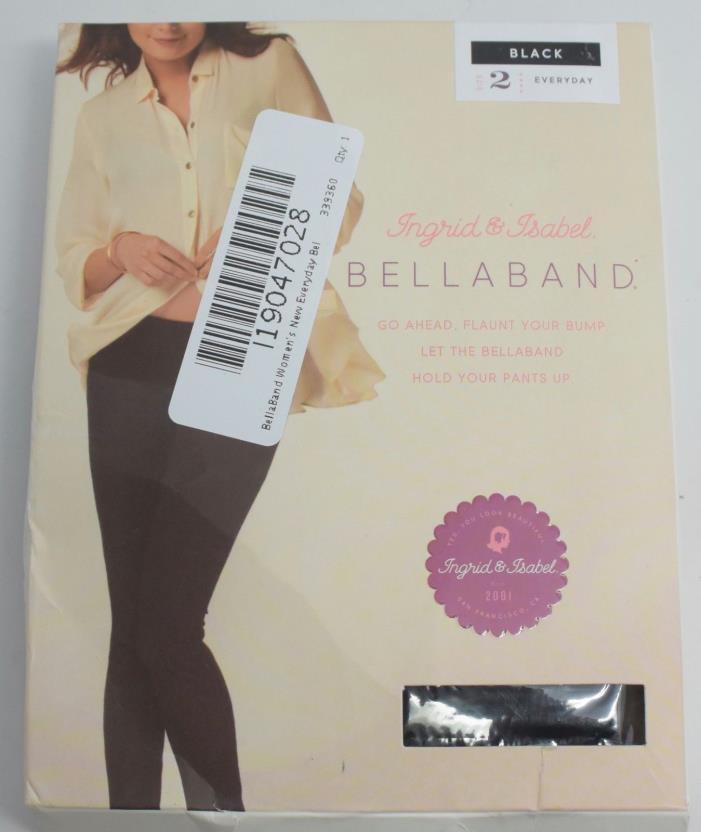 BellaBand Women's New Everyday Bellaband, Black, 2 {MR7 Y44-9