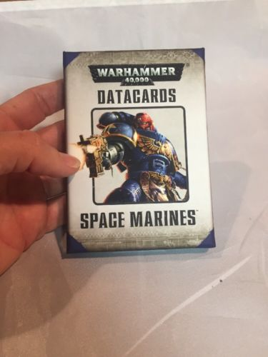 Warhammer 40k Space Marines Datacards