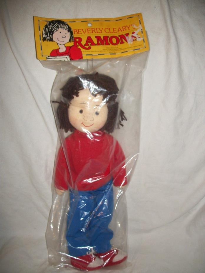 Rare Vintage 1985 Ramona Quimby Doll Beverly Cleary Rare 17