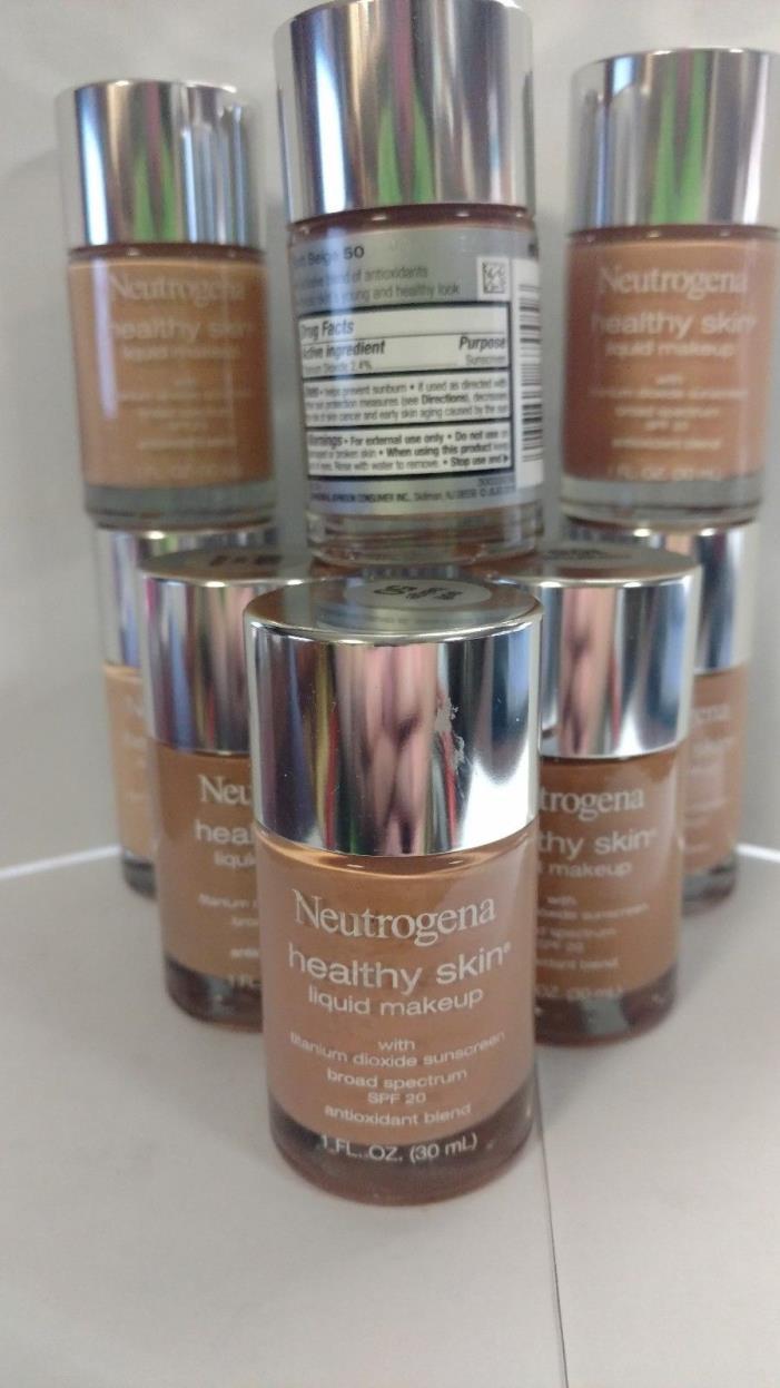 Neutrogena Healthy Skin Liquid Makeup U CHOOSE SHADE SPF 20 1 fl oz