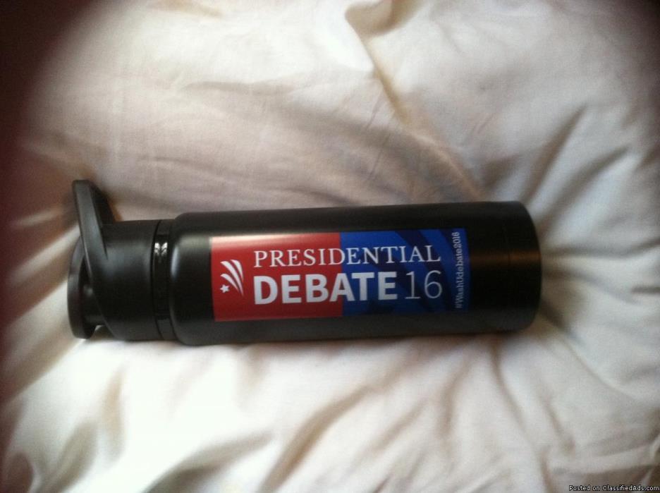 2016 Pres Debate all-aluminum Hot/Cold vacuum Travel Cup