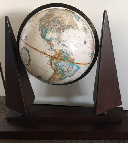 Replogle Globe With Hand Welded Steel Stand