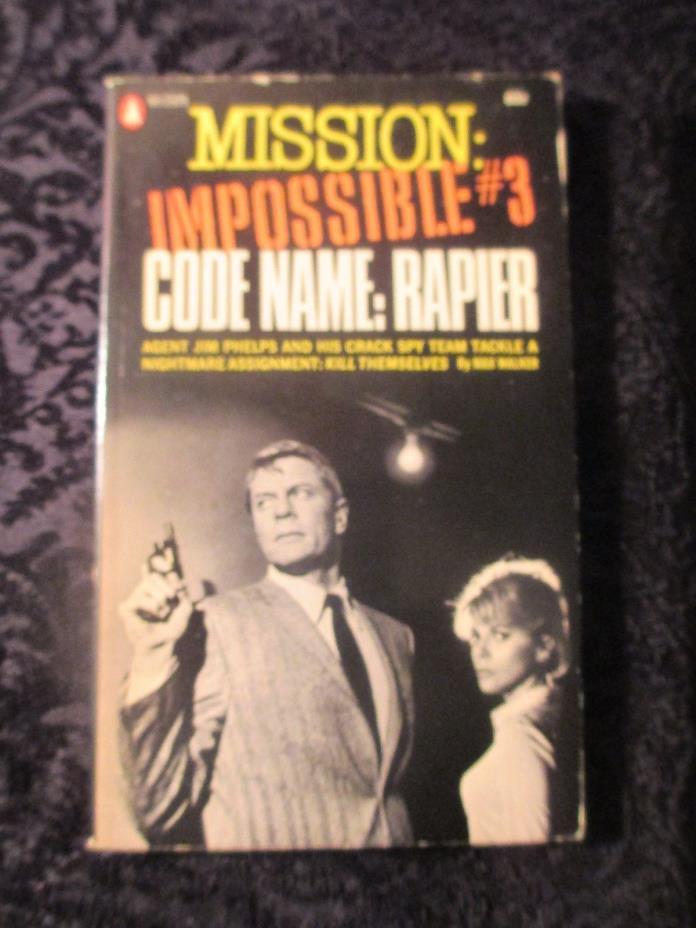 Vintage 1968 TV show tie-in pb book