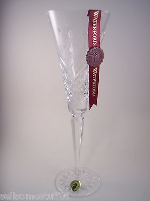 Waterford Crystal 12 Days of Christmas Flute 4 Four Calling Birds  New - No Box