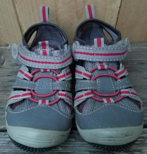 Toddler Boys Size 7 Stride Rite Velcro Shoes