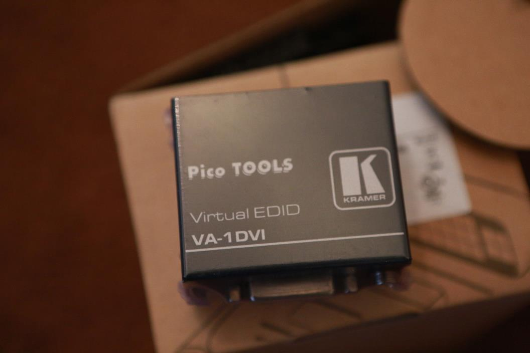 Kramer VA-1DVIN DVI EDID Emulator, FREE SHIPPING