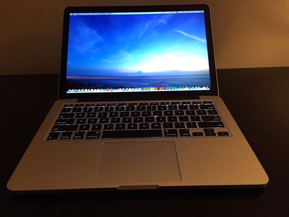2015 Macbook Pro 13 Retina i7 3.1GHz 16GB 128GB wow - ZERO cycles APPLECARE WTY