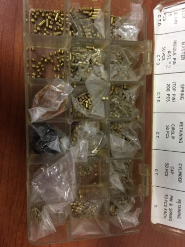 Vintage Keying Pinning Tumbler Pin Kit Locksmith Parts *DEad Bolt*
