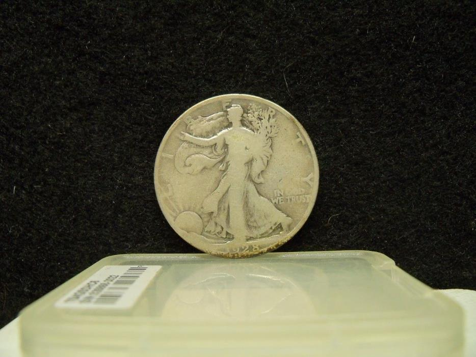 * 1928-S WALKING LIBERTY SILVER HALF DOLLAR