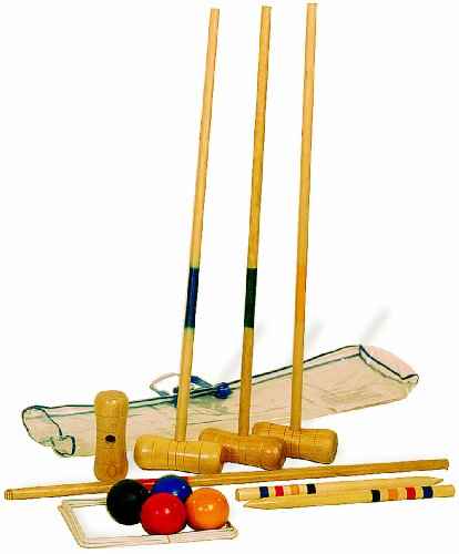 Small Foot Company 1050 Croquet Set