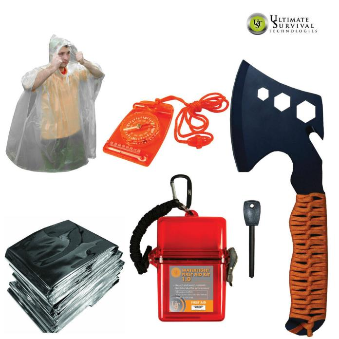 Ultimate Survival Technologies Camping and Emergency Survival Kit