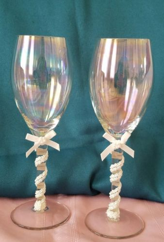 Wedding Champagne Toasting Flutes