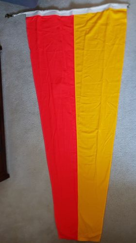 Vintage Navy Nautical SIGNAL FLAG