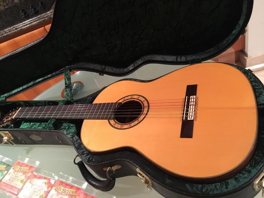 2003 Conde Hermanos AF25R 1ra Brazilian Rosewood Flamenco Acoustic Guitar MINT