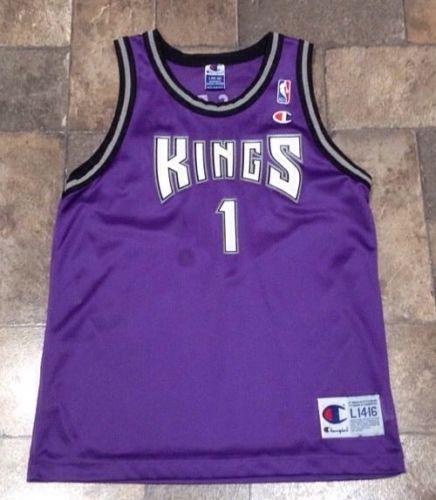 Sacramento Kings Champion NBA Jersey #1 Size Large