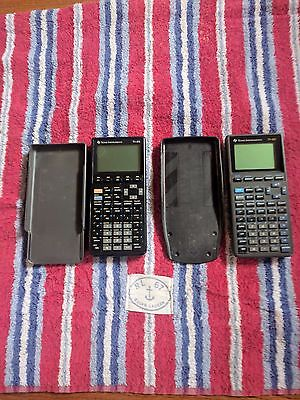 TI-85 AND A TI-82 CALCULATERS (PARTS OR REPAIR ONLY