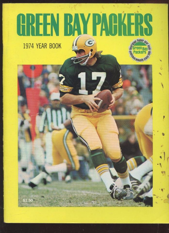 1974 NFL Football Green Bay Packers Yearbook