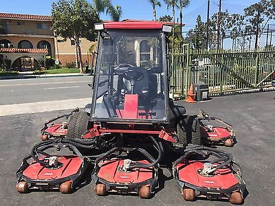 2008 Toro 4700D 4WD Wide Area Diesel Lawn Rough Mower 580d 4500d 4000d 2,488 Hrs