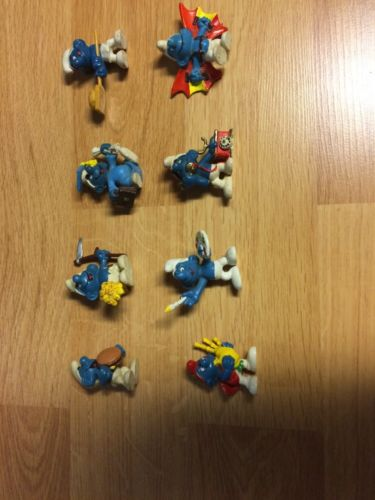 The Smurfs Vintage Activity Figures