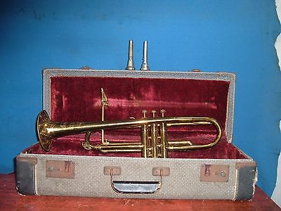 AMERICAN TRUMPET brass instrument Project or Parts 94315 slides slp