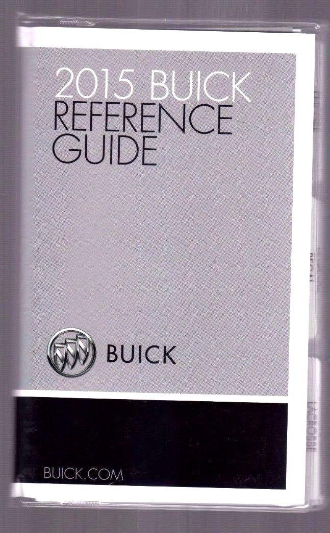 2015 BUICK DEALER DATA BOOK REGAL LACROSSE ENCLAVE ENCORE BROCHURE