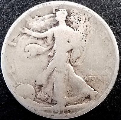 1919 Walking Liberty Half Dollar!