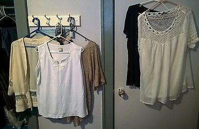 Women's Womens Ladies Shirts Lot Large Etc