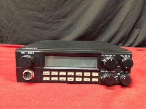 Mirage RCI-2950 CB Radio Transceiver 10 Meter Power On Tested