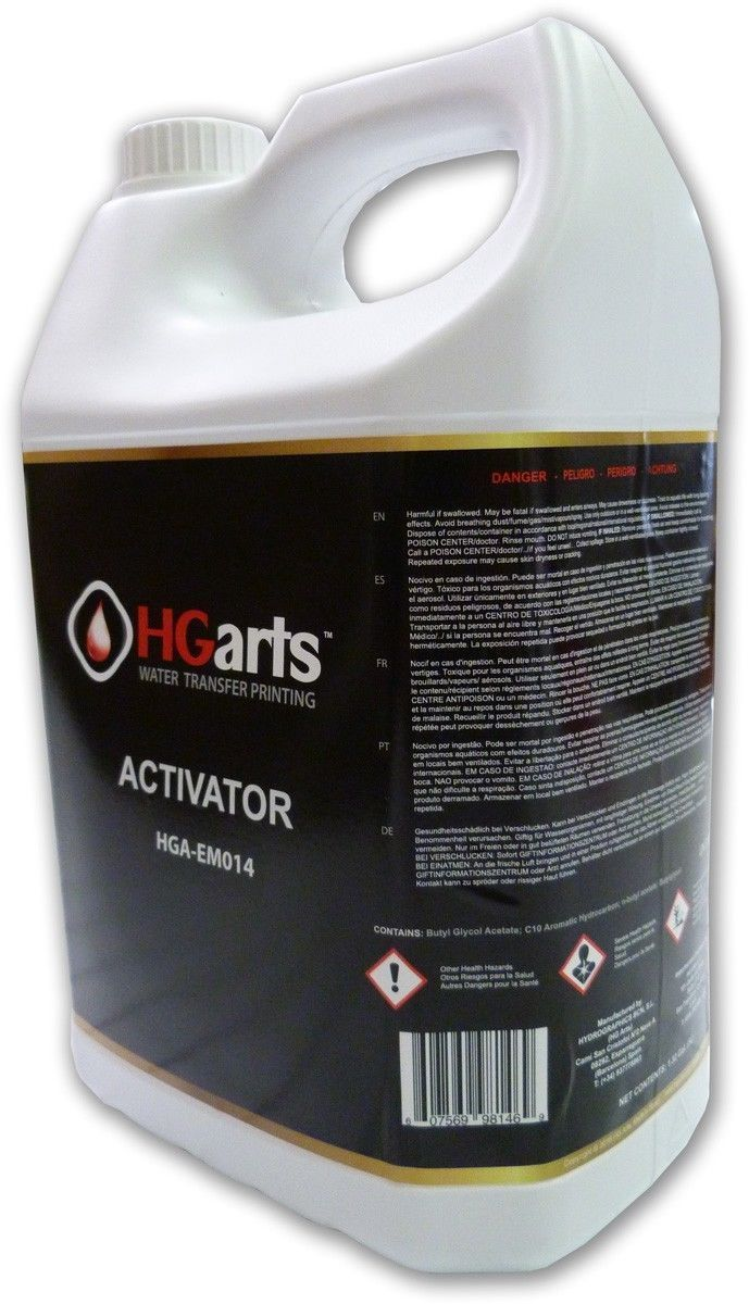 Hydrographics Activator - Water Transfer Printing - Hydro Dipping 1 QT (32 oz)