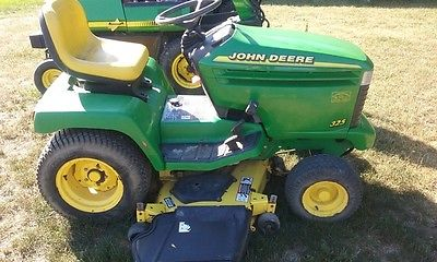 2000 John Deere 325 Skid Steer Loader