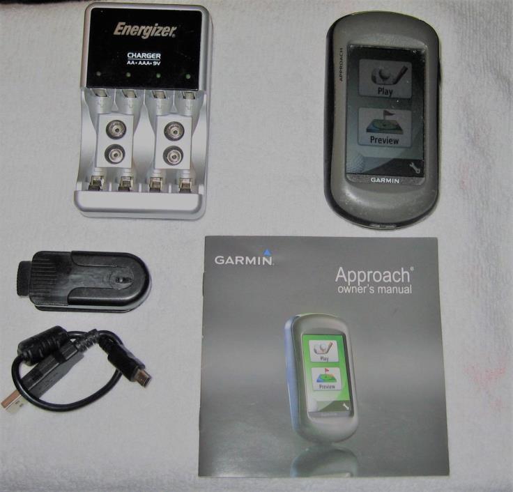 Garmin Approach Golf GPS G5 + PLUS Energizer Bat charger