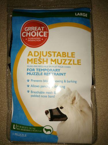 Great Choice Adjustable Mesh Muzzle