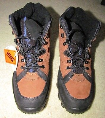 Red Wing Worx Steel Toed Boots Women Size 10