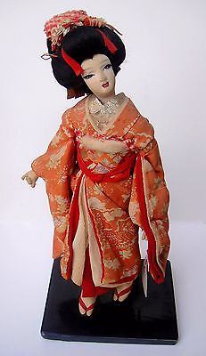 Collectible antique japanese doll